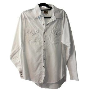 Ely Cattleman Western Shirt Pearl Snap Button